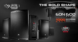 "JBL EON 610 2-Way 10"" Powered DJ PA Speaker"