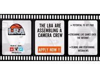 Basketball Camera Crew