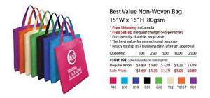 Promotional bag on sale $0.49