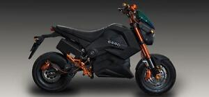 EMMO GTS- MOTORCYCLE ELECTRIC BIKE AVAILABLE AT EBIKES BARRIE-705-770-4535 OR 705-252-9391... WE DELIVER