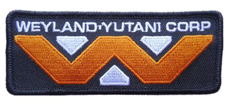 ALIEN Movie Weyland-Yutani Corporation Logo PATCH