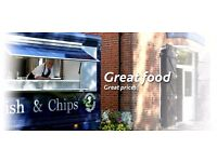 Flourishing New Forest Fish and Chip van Complete business for sale -Turnover 30k-40k in 6 months