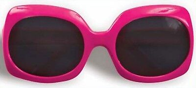 80's Hot Pink Sunglasses Glasses Totally Neon Retro Halloween Costume Accessory
