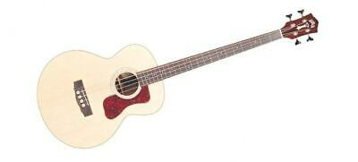 Guild B-140E Acoustic Electric  Solid Wood Bass Guitar with Case - Blem #J77