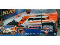 NERF N-Strike Elite ROUGH CUT 2x4 gun