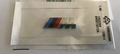 BMW M Sport Emblem Chrome Sticker Side Wing M Power Badge Bmw M-sport-emblem