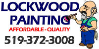 LOCKWOOD PAINTING.  ONE ROOM, TWO COATS, $249 PAINT INCLUDED.