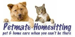 Petmate Homesitting: Pet & Homecare When You Can't be There