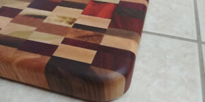 BRAND NEW Exotic wooden handmade cutting board