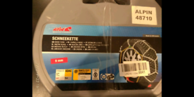 Winter snow chains new never used Not needed anymore