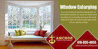 Window Enlarging | Services Mississauga - anchorcutting.COM