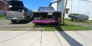 85 Chevy C10 almost done