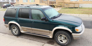 97 Ford Explorer Eddie Bauer trade for small car or cash