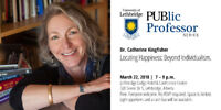 PUBlic Professor Series - Dr. Catherine Kingfisher