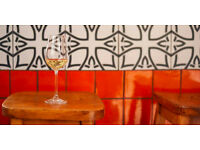 Great Sherry & Wine Bar in Shoreditch looking for Part time Staff