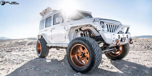 FUEL RIMS AND TIRES FOR FINANCING ON JEEP WRANGLERS