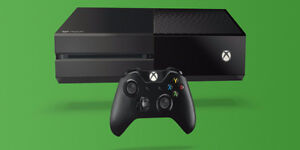 xbox one bundle 1tb  1 controllers 4 games