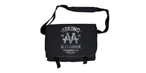 New Official ASKING ALEXANDRIA - BLACK LABEL Messenger Bag