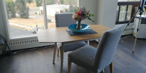 Ikea Dining Table & Chairs For Sale
