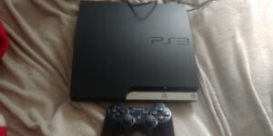 Ps3 for sale with lots of games and controller $100 OBO