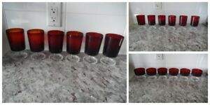 *Vintage* Luminarc made in France Glasses and Dessert Cups
