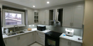 Kitchen Cabinets,Countertop,Bath,Tiles,Renovation