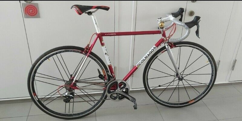 Colnago Master fluted tubes w Durace n top end components n Campagnolo Shamal Ultra