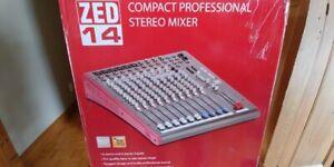 Mixer Stéréo ZED14