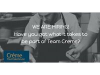 Part time trainee chef / cook