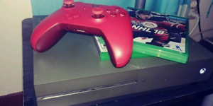 Xbox one s 1 TB battlefield 1 edition plus games and controller