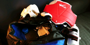 Sparring gear and bag