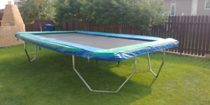 11 X 17 Trampoline and pads