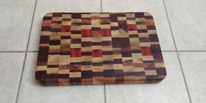 BRAND NEW  Exotic Hand Made Wooden Cutting Board