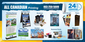 PRINTING, SIGNS & BANNERS