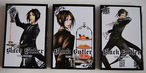 3 Black Butler Books  - Sold as set only
