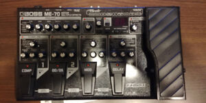 Guitare Multiple effects Boss ME-70