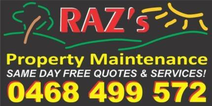 RAZ's PROPERTY MAINTENANCE Caboolture Caboolture Area Preview