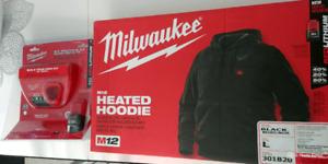 Veste à capuchon chauffante Milwaukee