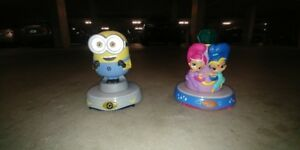 Night light Shimmer and Shine PLUS Minions Never used
