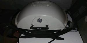 Weber portable BBQ