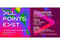 One 3-day ticket to All Points East festival - May 25-27