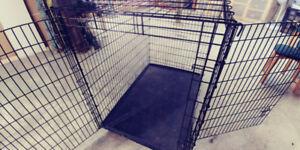 Cage pour GRANDS chiens.