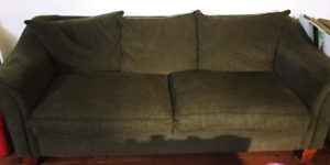 Free couch and matching love seat