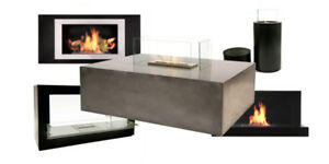 Display Model Sale on Bio Flame fireplaces!