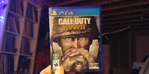 Call of Duty: WWII  PS4 -- looking for trade only