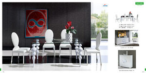 Dining room sets, Tables, chairs, Buffets and 4-door China