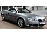 2008 Audi A4 S Line 1.8 T Turbo Special Edition Convertible Bose