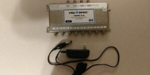 TruSpec 8-Way HDTV Digital Multiswitch for Satellite Receivers