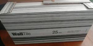4×16 white subway tile