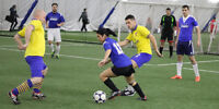 Lunch hour co-ed indoor (Dome) soccer in Burlington